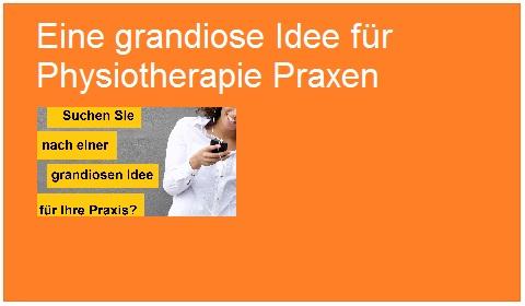 Anna Wagner - eine grandiose Idee für Praxen 480x280