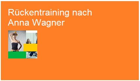 Rückentraining nach Anna Wagner 480x280